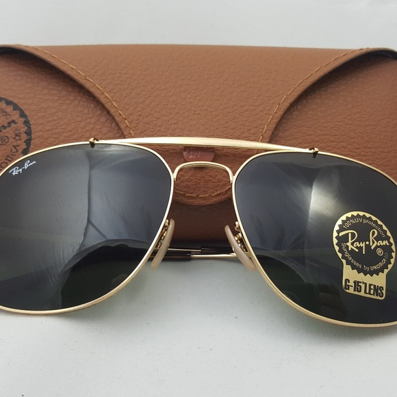 5a91e237a83 Ray-Ban - RB3561 001 THE GENERAL Gold Classic G15.  M 5b5e6837c89e1d09ebd468bf